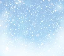 Snow theme background 9 - stock illustration