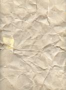 old wrinkled paper - stock illustration