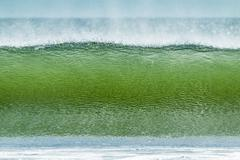 Classic tubular shore break surfing wave typical of this region, Playa Hermosa, Stock Photos