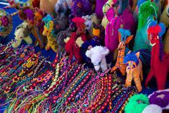 Market souvenirs, Bucerias, Nuevo Vallarta, Nayarit, Mexico, North America Stock Photos