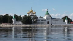 View of the Ipatiev Monastery Stock Footage