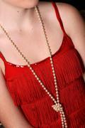 Beautiful pearls Stock Photos