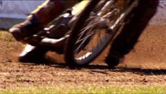 Slow Motion Race Track 300fps Stock Footage