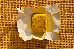condiment bouillon stock cube - stock photo