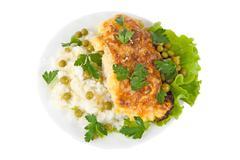 Chicken dish Stock Photos
