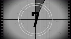 Countdown racord time Stock Footage
