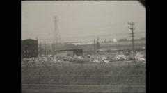 Gary IN Steel Mill Stock Footage