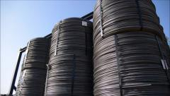 Pile of coils Stock Footage