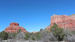 Sedona Arizona Red Rocks - stock footage