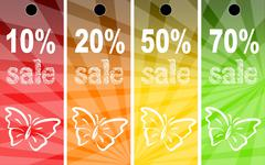 Sale abstract colors background Stock Photos