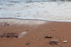 Beach. Budva Stare Misto - stock photo