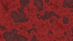 4k zombie survival horror alien motion background twisted flesh style red Stock Footage