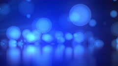 Blue abstract motion background Stock Footage