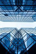 Commercial Window closeup shot - stock photo