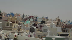 Cemetery Grave Yard Stock Footage