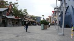 Downtown Disney Shops Florida Stock Footage