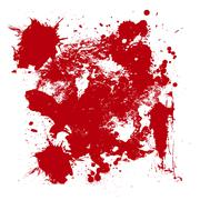 Stock Illustration of Blood drip and blood splatters 3 vectorpack