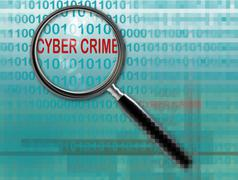 Cyber crime Stock Illustration