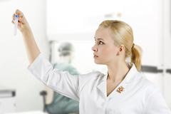 The medical lab Stock Photos