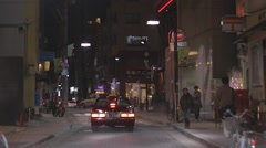 Tokyo - nice drive through Roppongi - stock footage