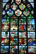France, Sainte Jeanne d Arc church in Rouen Stock Photos