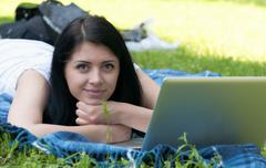 Stock Photo of Female Student