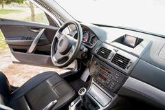 Inside the car Stock Photos