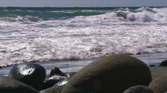 Waves on the Mediterranean, Andalucia - stock footage
