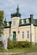 Quebec, the art center of Kamouraska Stock Photos