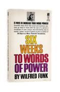 Book Six weeks to words of power - stock photo