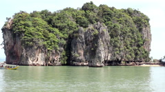 James bond island thailand Stock Footage
