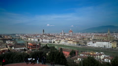 Florence Tuscany Italy  footage Stock Footage