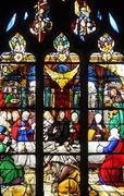 Stock Photo of France, the church Saint Martin of Triel sur Seine