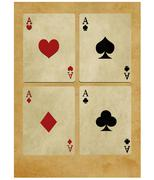 Game cards Stock Illustration