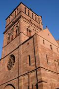 Stock Photo of the Saint Thomas church in Strasbourg