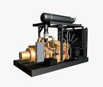 Generator Stock Illustration