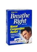 Breathe Right Nasal Congestion Relief pack - stock photo