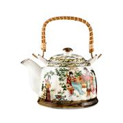 Stock Photo of Painted chinese teapot