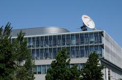 Bas Rhin, Arte building in Strasbourg Stock Photos