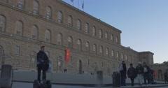 FLORENCE PITTI PALACE Stock Footage