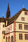Bas Rhin, Le Musee Historique in Strasbourg Stock Photos