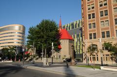 Quebec, Saint John l Evangeliste church in Montreal Kuvituskuvat
