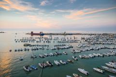Marina of Otranto Stock Photos