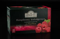 Pack of Ahmad Tea Raspberry Indulgence - stock photo