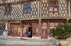 Eure et Loir, La Maison du Saumon in Chartres Stock Photos