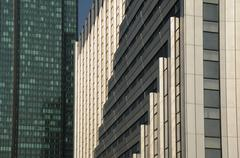 France, modern building in the district of La Defense - stock photo
