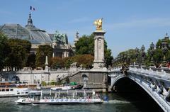 Stock Photo of Alexandre 3 bridge in Paris