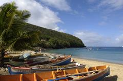 Stock Photo of landscape of Les Anses d Arlet, Anse Dufour in Martinique