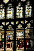church of Honfleur in Normandy - stock photo