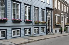 Canada, old district of Quebec - stock photo